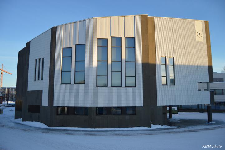 フィンランド・ロバニエミ行政センター