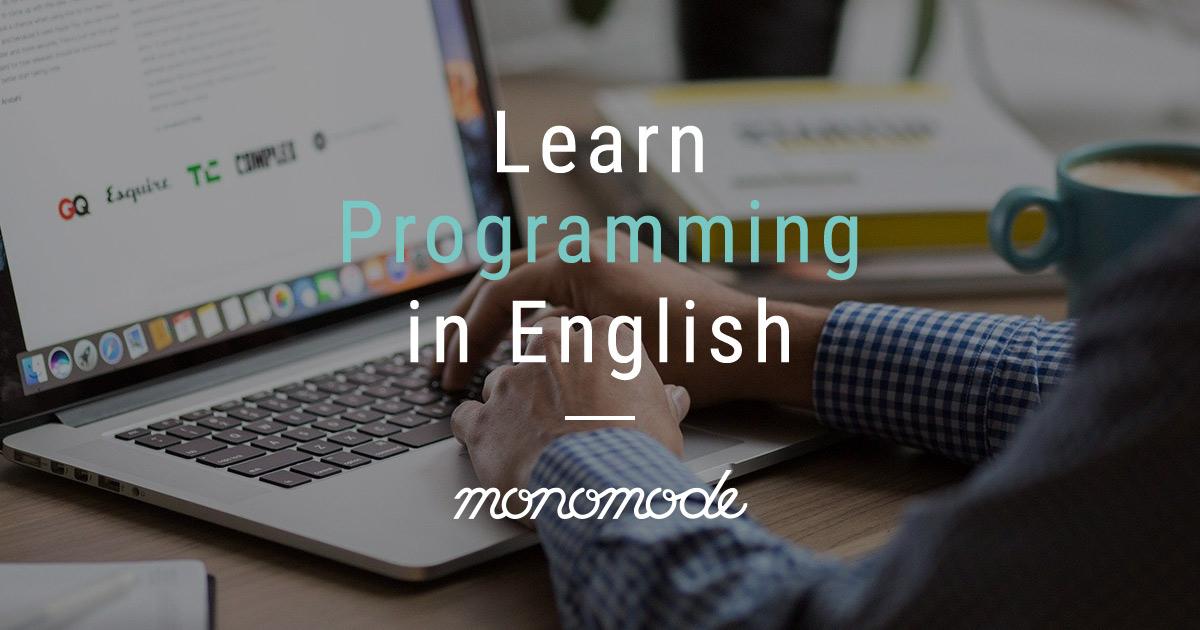 Learn Programming in English