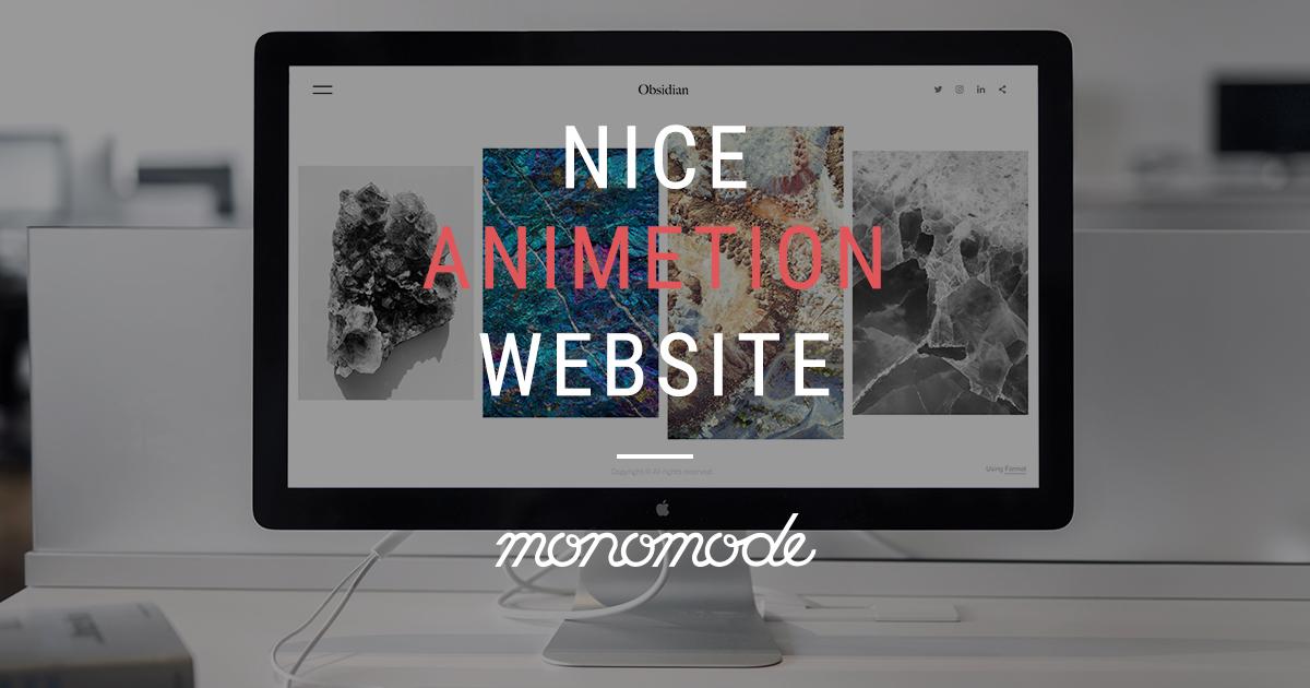 Nice Animation Website